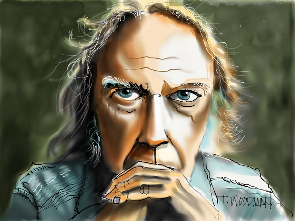 iPad Sketches Drawings Art Architect Thomas Woodman Neil Young Rocking in the Free World